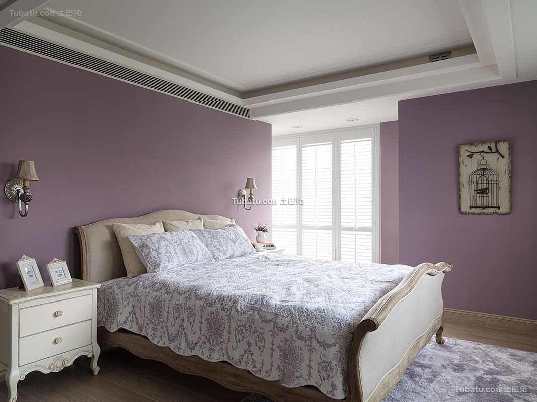 田园设计卧室欣赏大全