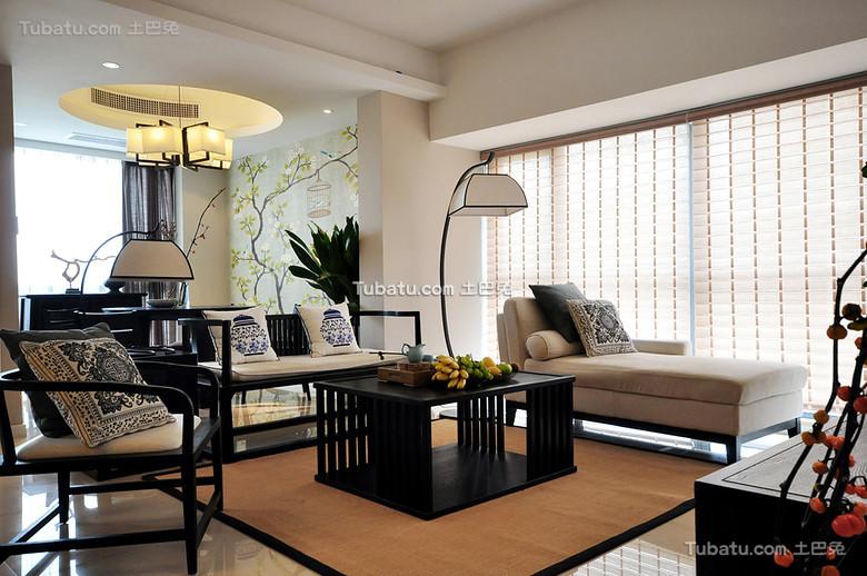 新中式家装客厅设计