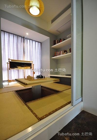 清新现代榻榻米居室设计