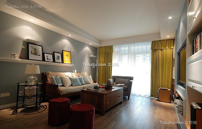 简约宜家风格客厅设计