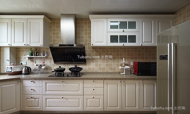 简约美式厨房装修设计
