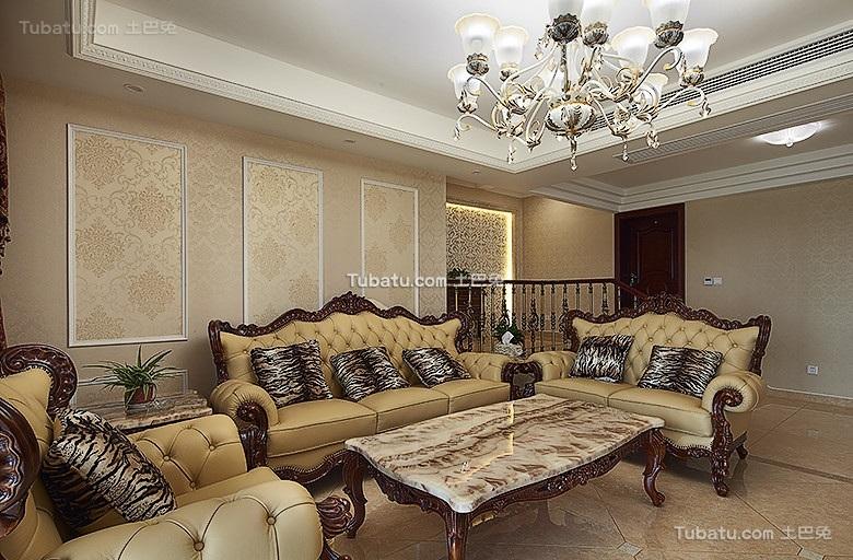 精致古典欧式三居装饰装修