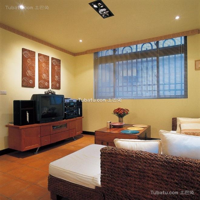 东南亚装修设计小客厅大全