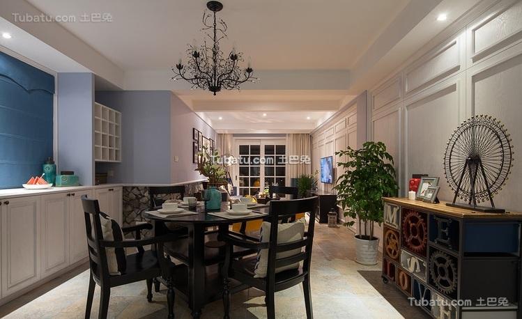 美式风格家装设计餐厅效果图片