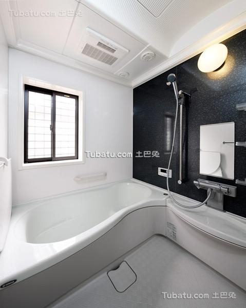 时尚日式装潢设计卫生间