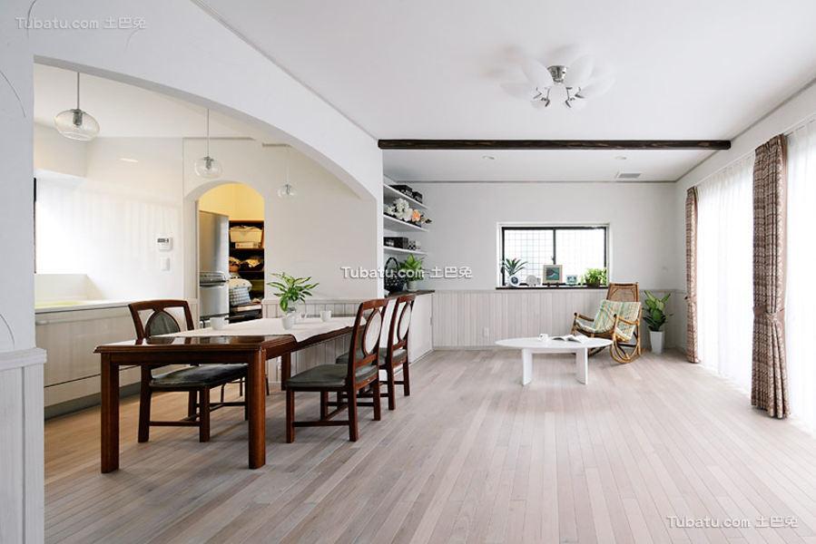 时尚日式装潢设计客厅
