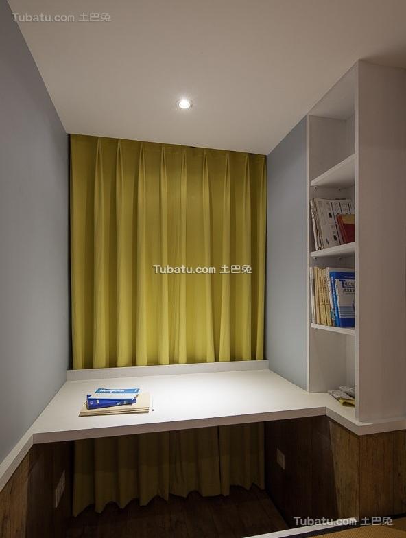 美式风格家装设计书房效果图片