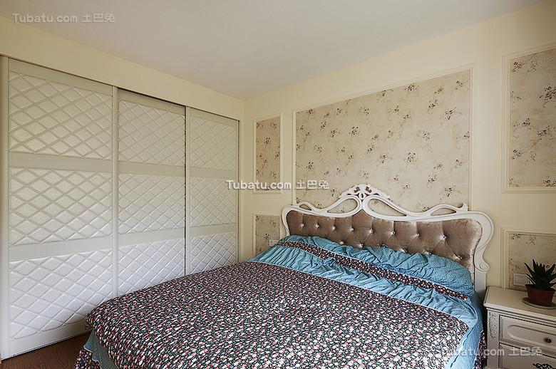 清新自然简欧卧室装饰案例