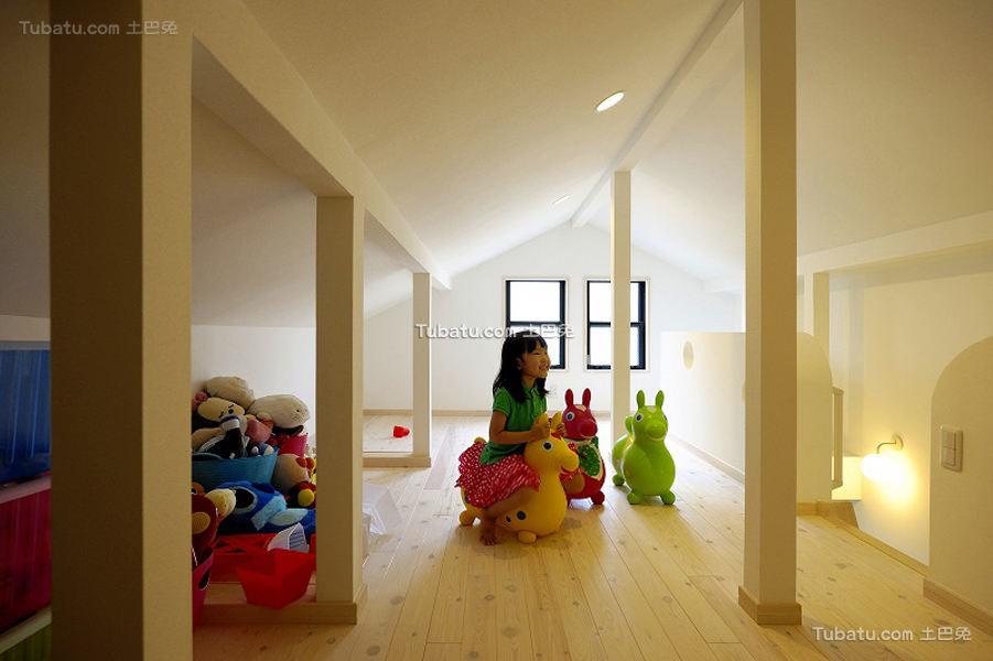现代日式风格儿童房设计