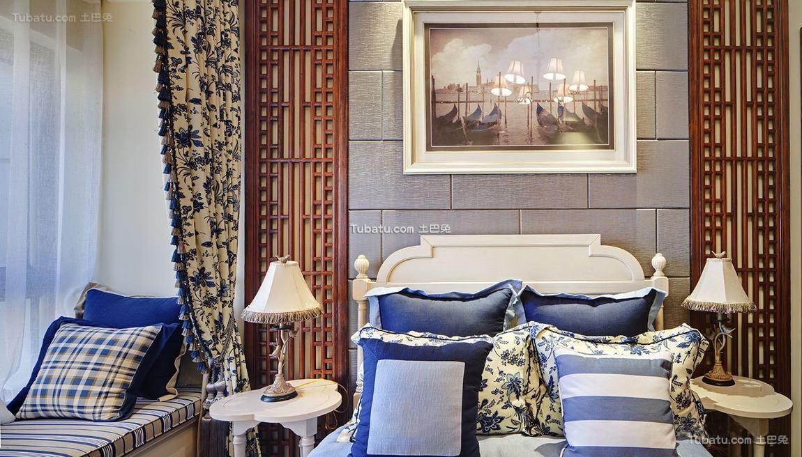 地中海装修卧室灯欣赏