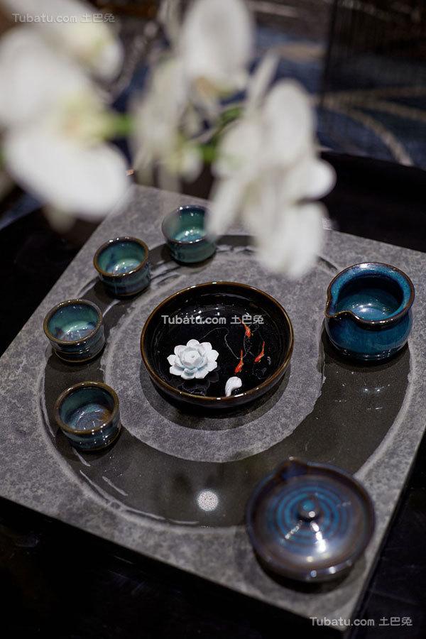 会所室内茶具设计图片欣赏