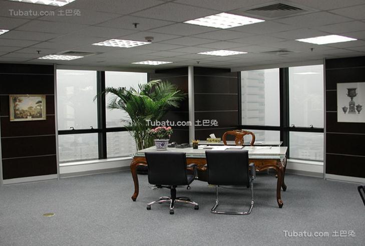 高级办公室设计室内效果图