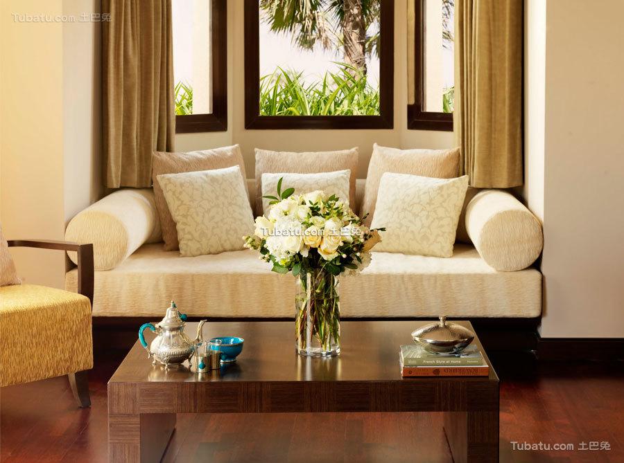 酒店设计室内沙发装潢图片