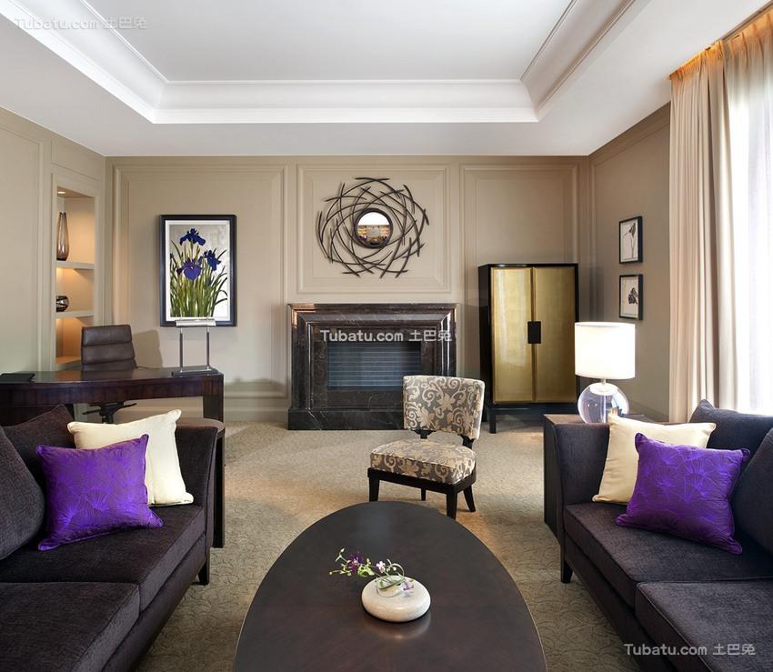 欧式古典酒店设计室内装潢图片