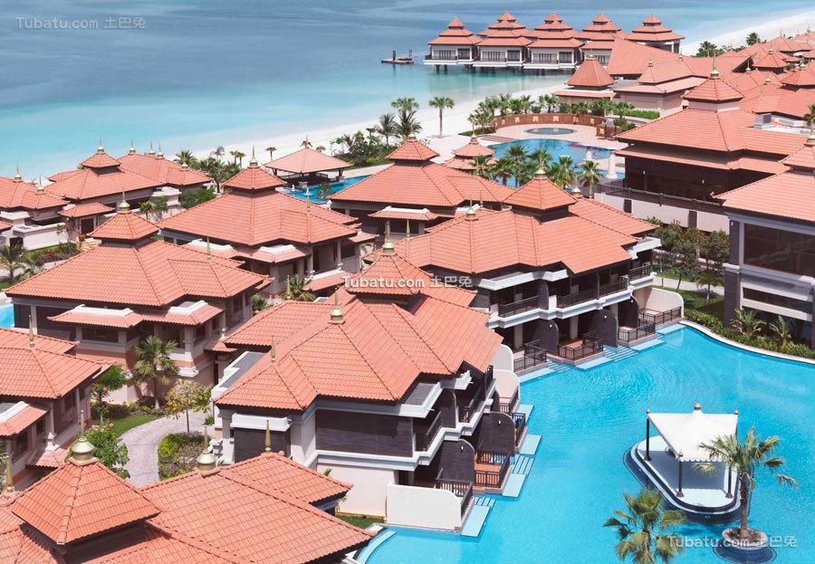 海边酒店设计建筑效果图片