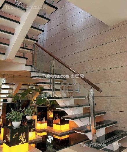 新中式家装楼梯设计案例