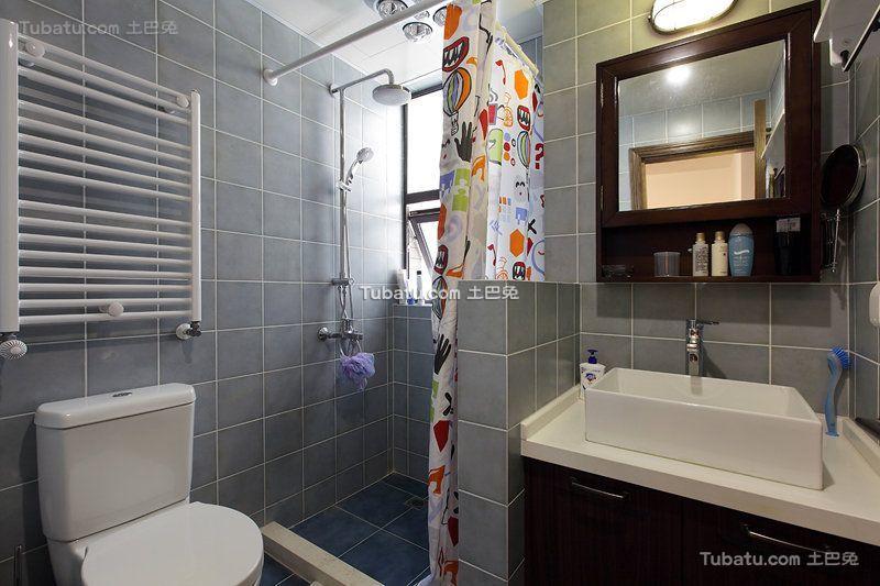美式卫生间装饰图片