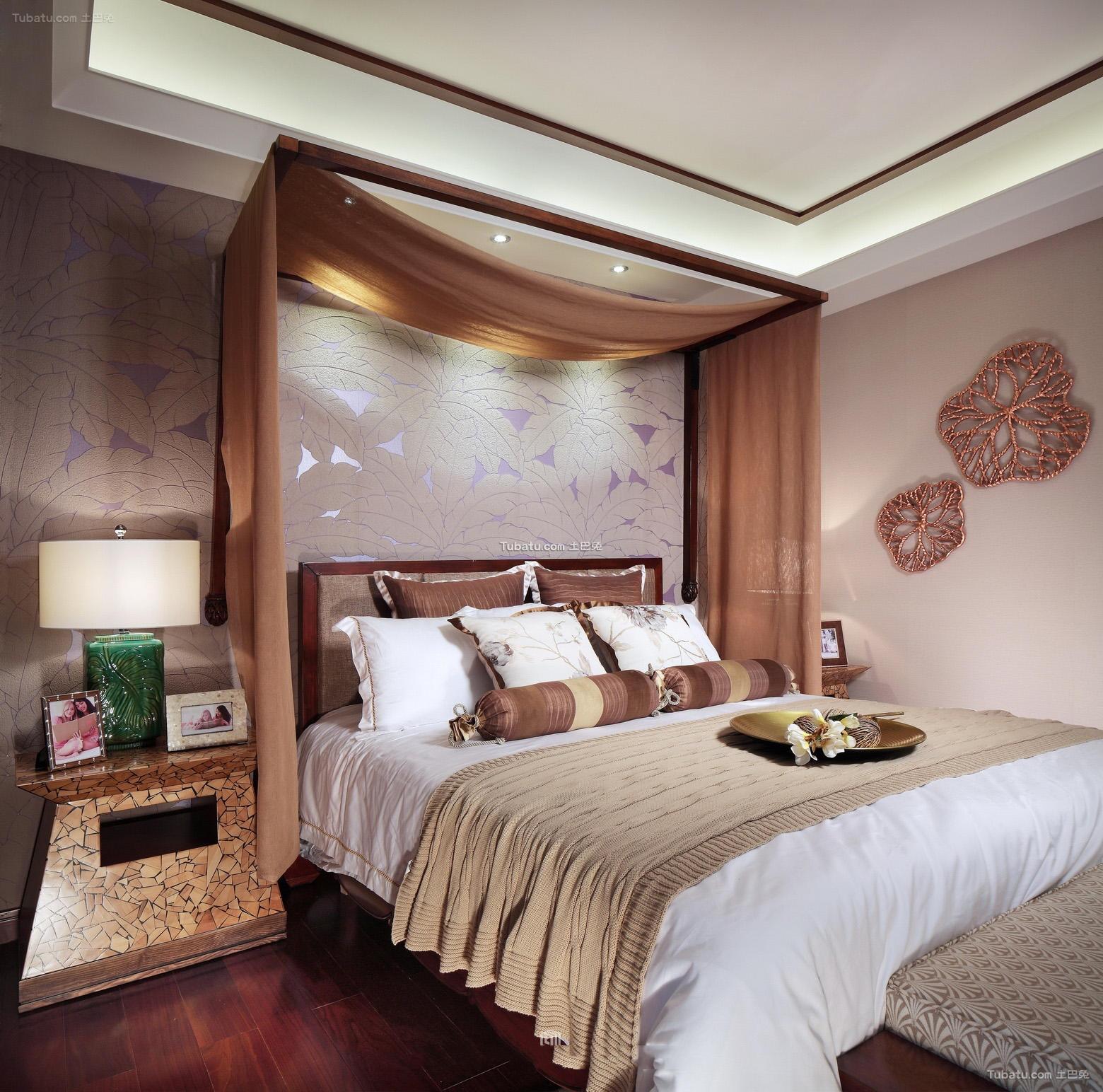 东南亚家庭设计卧室大全