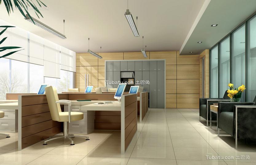 现代办公室设计室内效果图片欣赏
