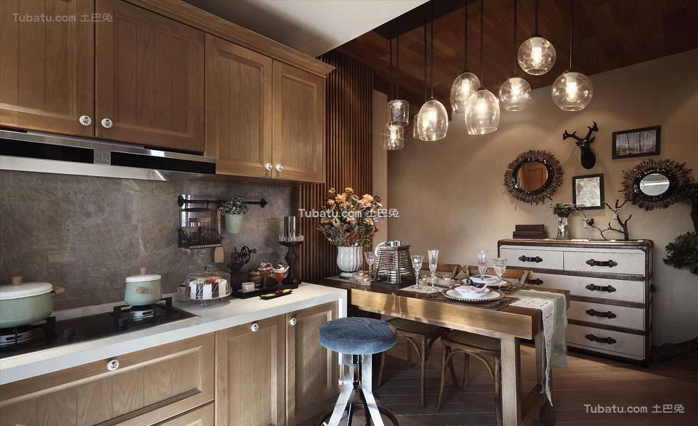 东南亚设计装修厨房欣赏大全