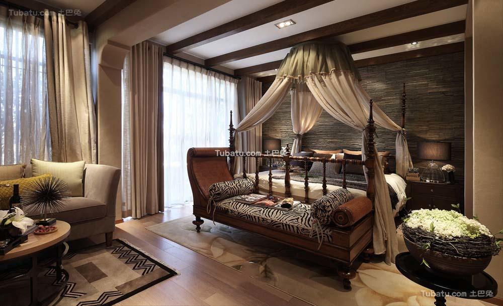 东南亚装饰卧室大全欣赏