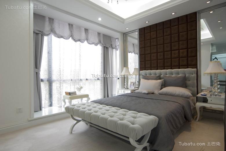 优雅大方简欧风格卧室