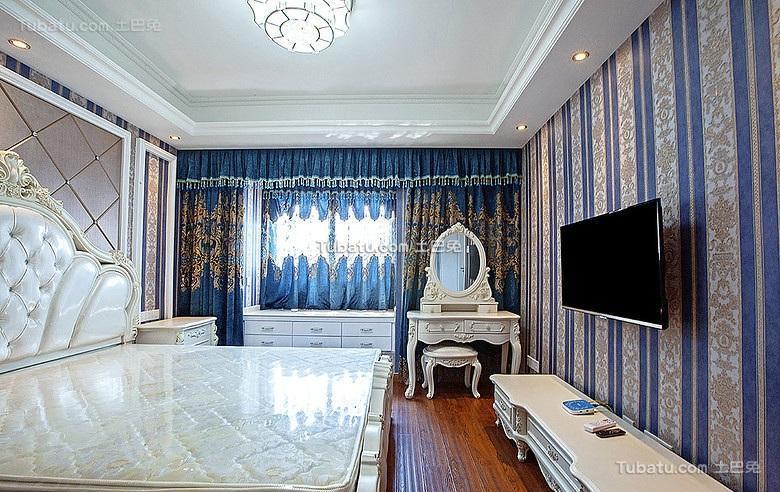 高贵华美欧式卧室装饰设计
