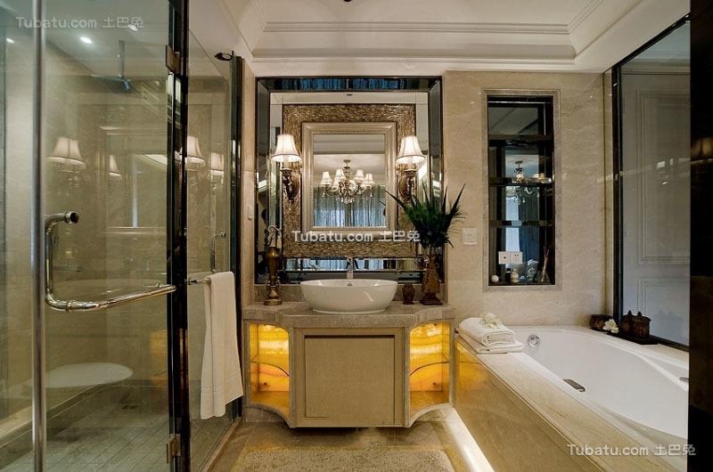 美式家装设计卫生间大全