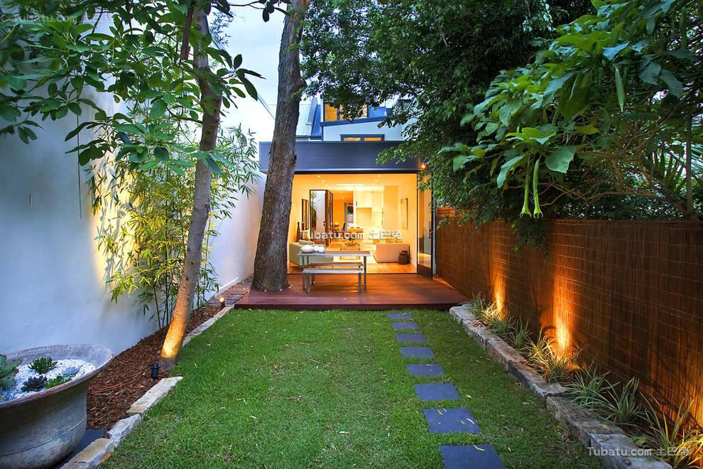 别墅一楼小花园设计大全