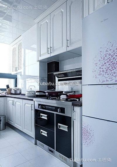 明亮简约厨房设计大全