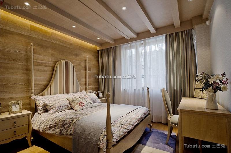 美式设计装修奢华卧室大全