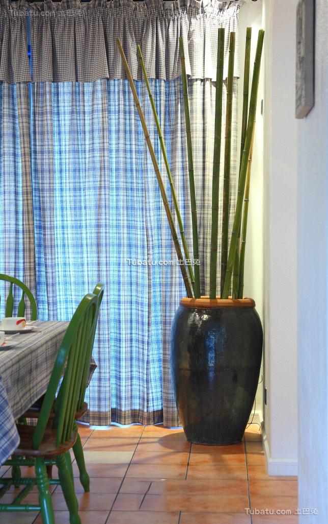 地中海设计室内窗帘欣赏