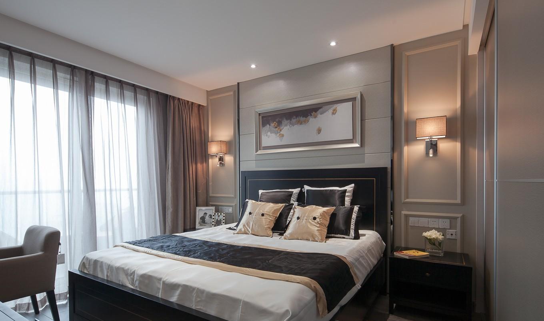 现代设计卧室装饰效果图片