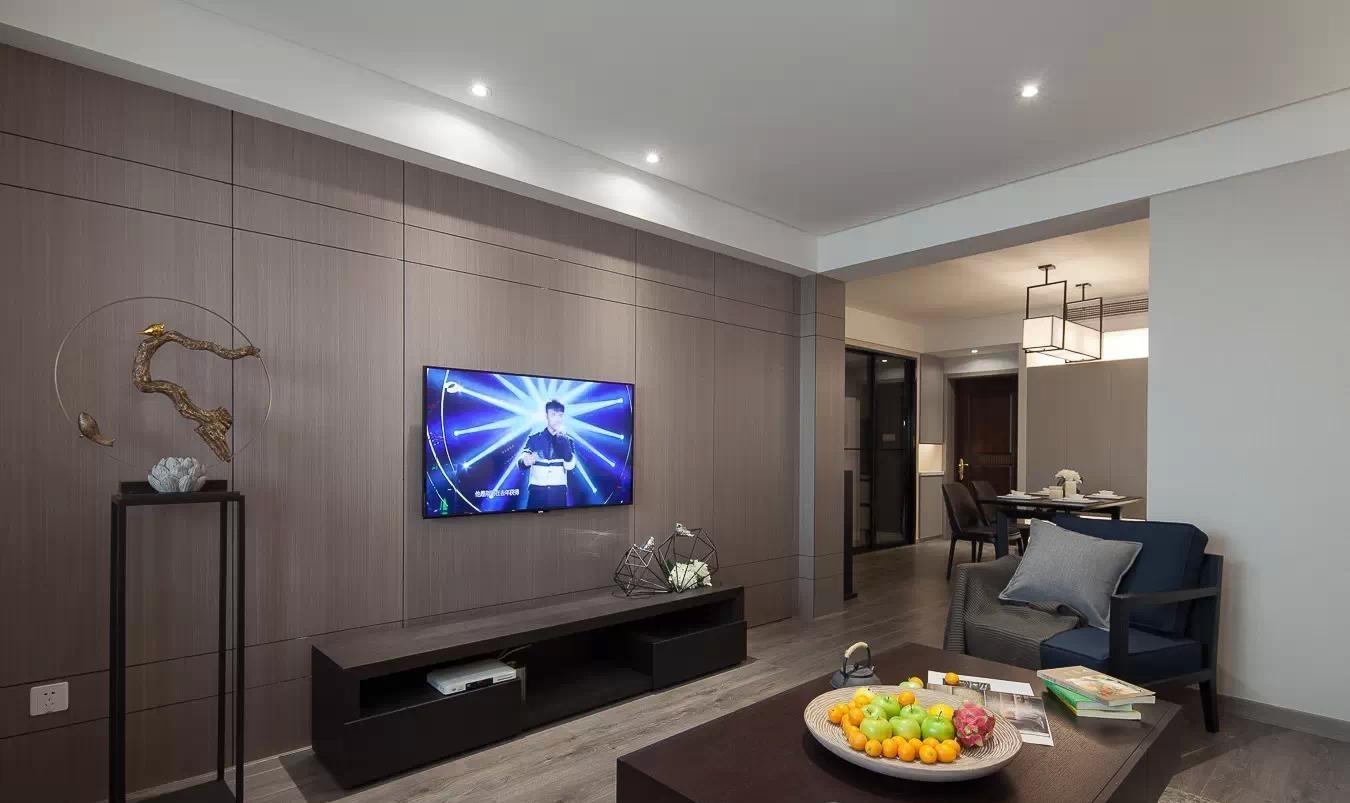 现代设计三居室室内装饰效果图片
