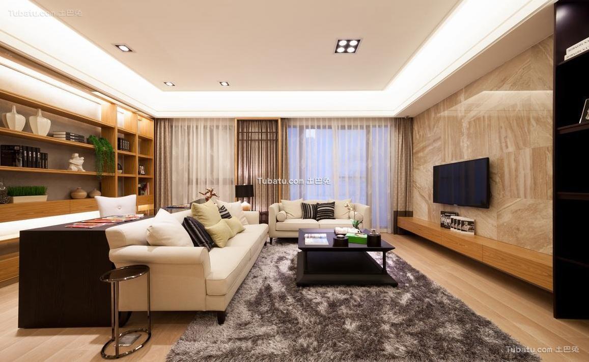 日式风格四居室装饰设计效果图
