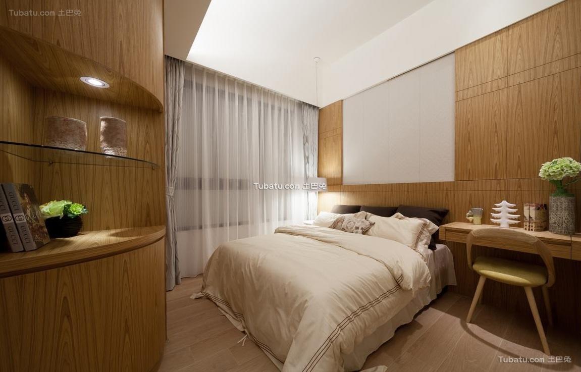 日式风格卧室装饰设计效果图欣赏