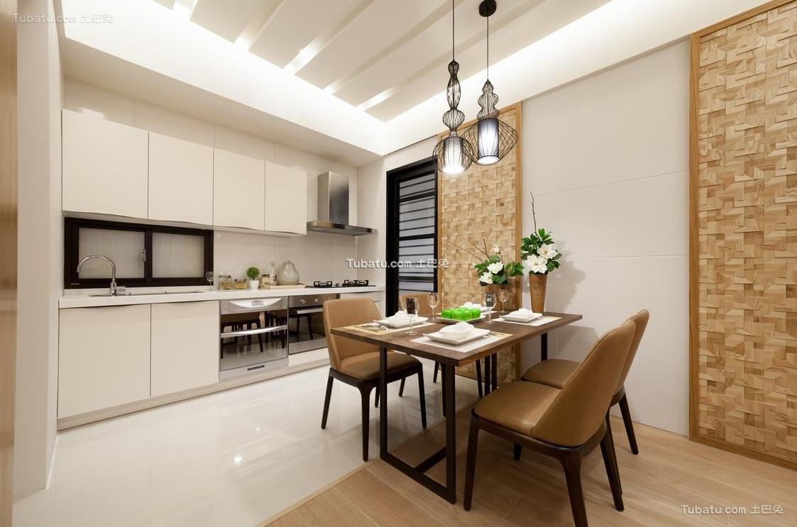 日式风格家居餐厅装饰设计效果图