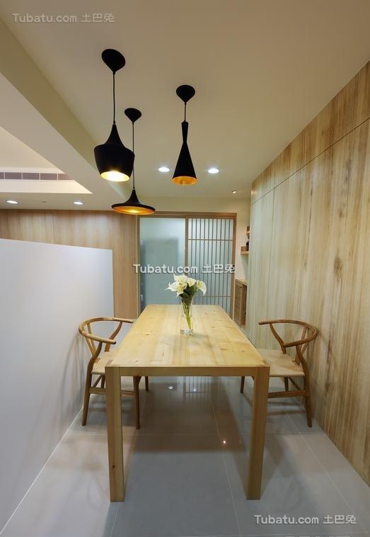 日式家庭餐厅设计装修图片