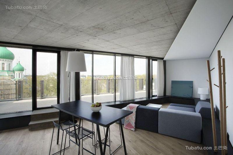 简约设计现代公寓室内装饰效果图
