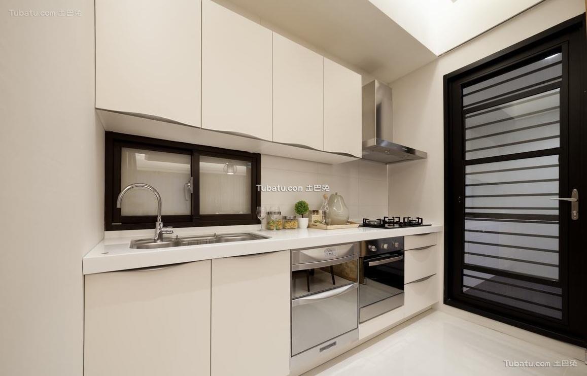 日式现代厨房装饰设计效果图