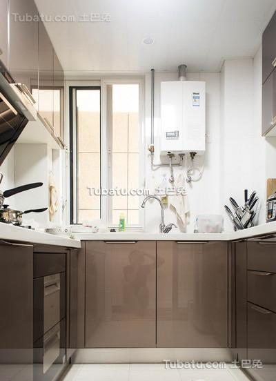 现代家居厨房室内设计效果图