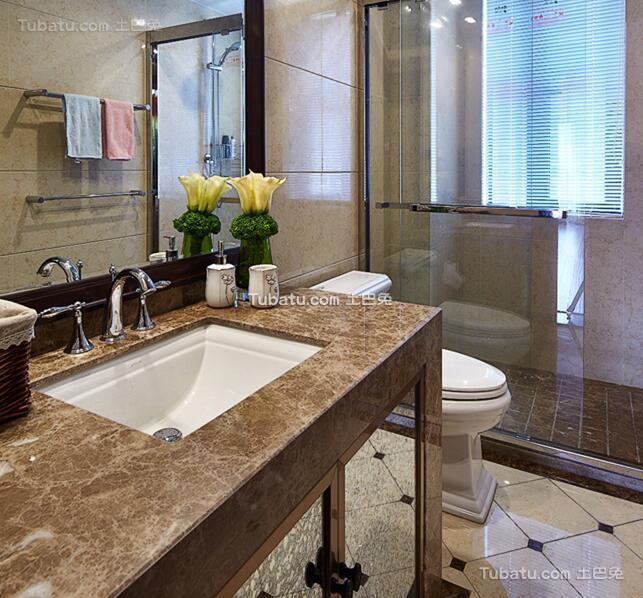 现代卫生间装饰设计图片欣赏