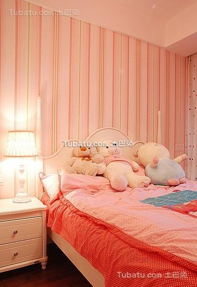宜家风格复式卧室效果图