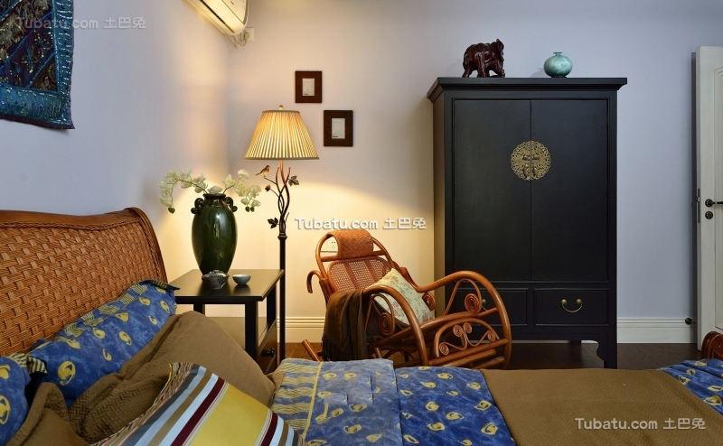 美式田园卧室灯欣赏
