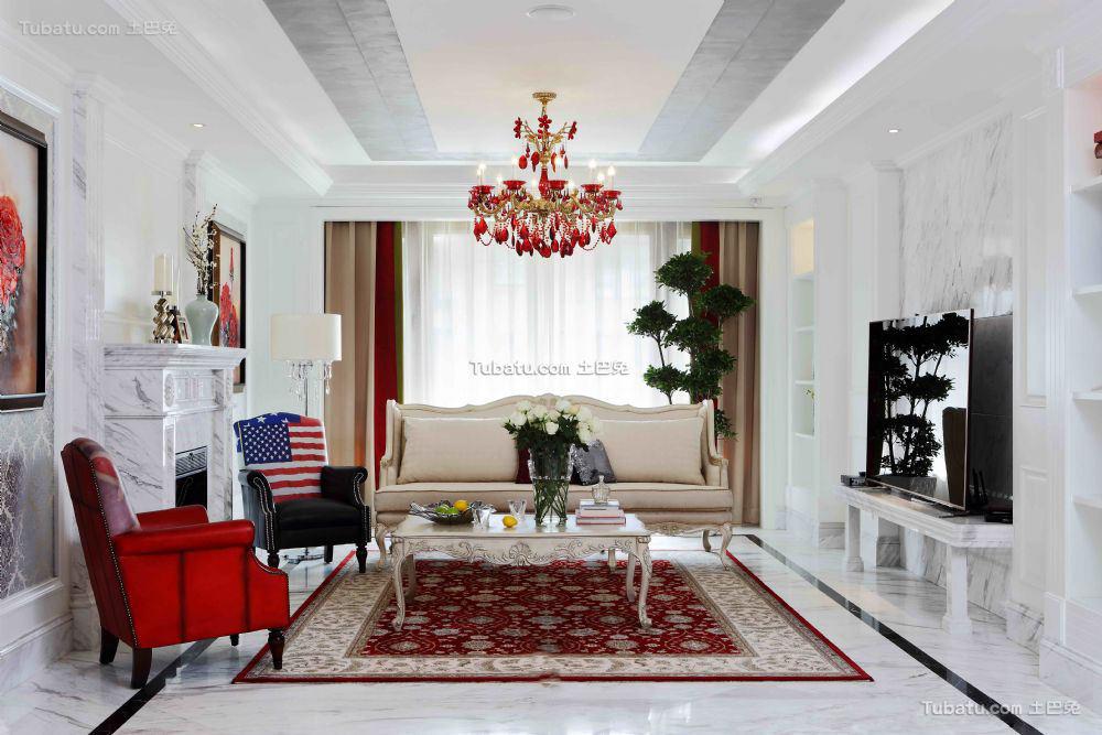 欧式装修客厅大全欣赏