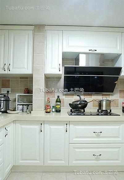 宜家风格复式厨房效果图