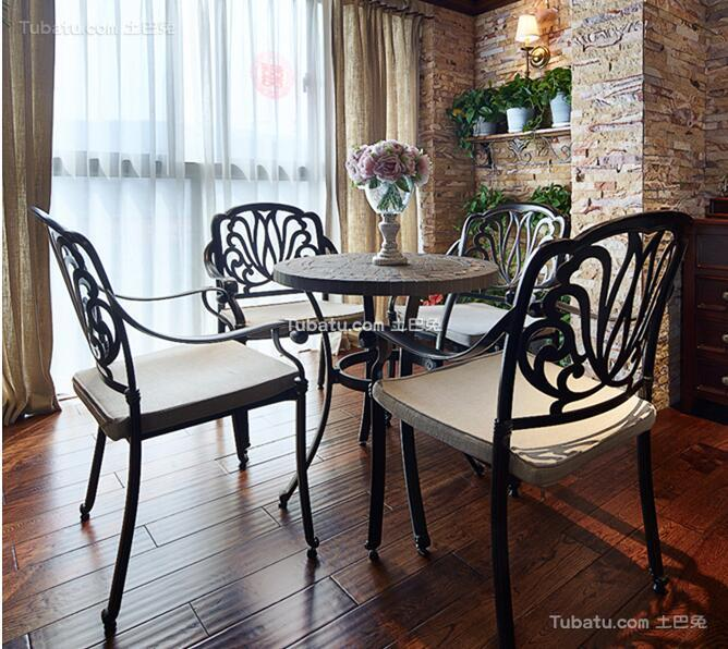 美式风格家居餐厅装饰图片