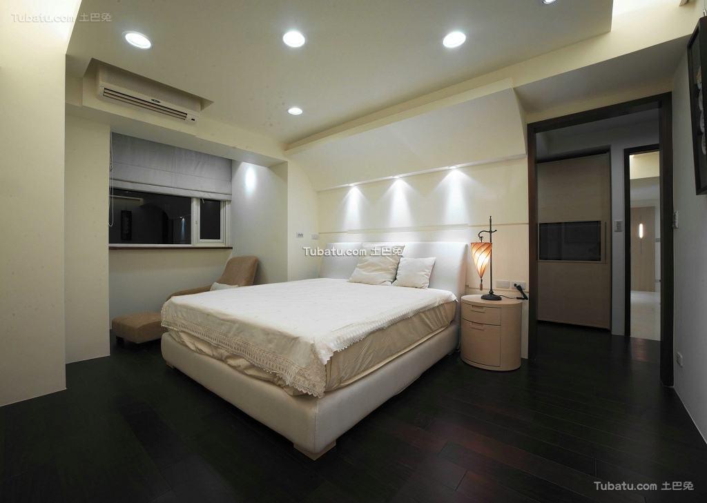 现代设计室内卧室效果图大全2015