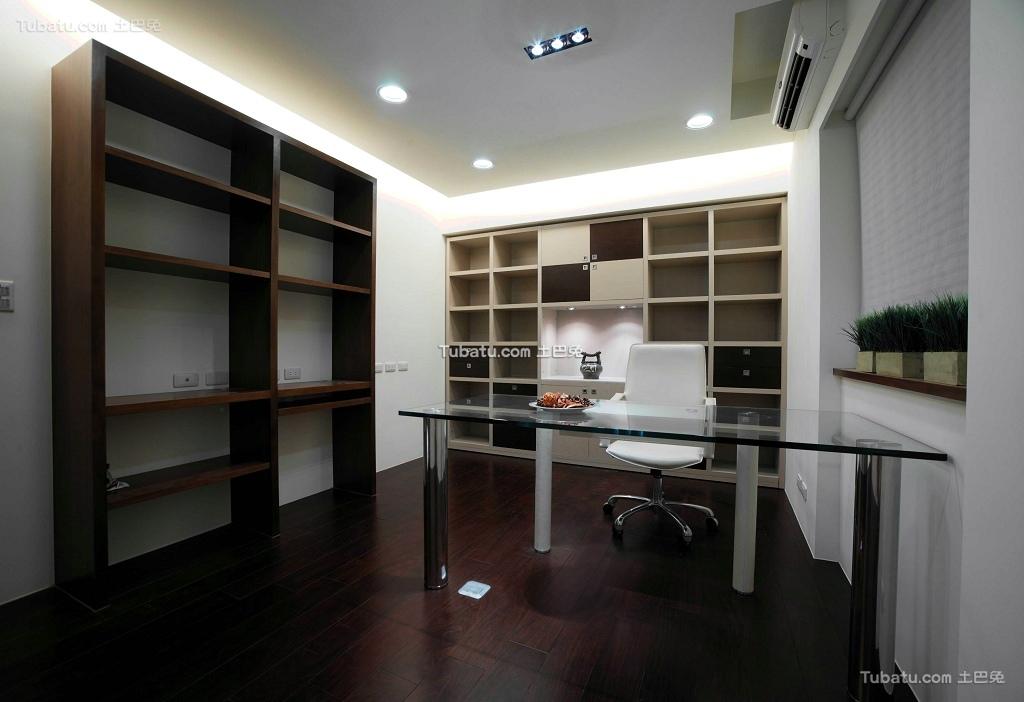 现代设计装修书房大全