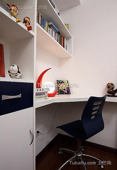 现代时尚装潢设计书房